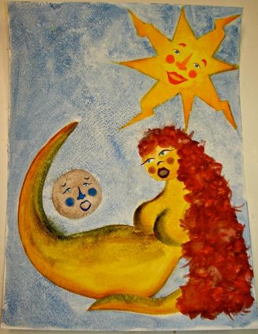 W14 5 15 Gaia Goddess Moon Sun