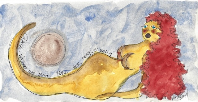 W14 5 15 Gaia Goddess Moon