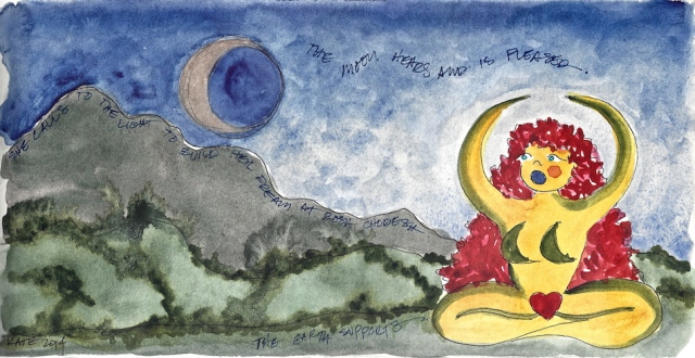 W14 5 26 She Calls to the Moon Rosh Chodesh