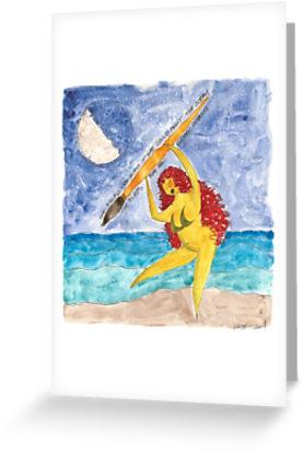 2014 6 5 Booby Gurl Paints Ocean papergc,441x415,w,ffffff.2u4
