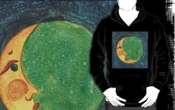 2014 OLD MOON WAXING CRESCENT fig,black,mhoodie,ffffff.3u4
