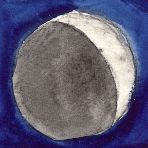 W14 5 5 MOON PHASES WANING CRESCENT